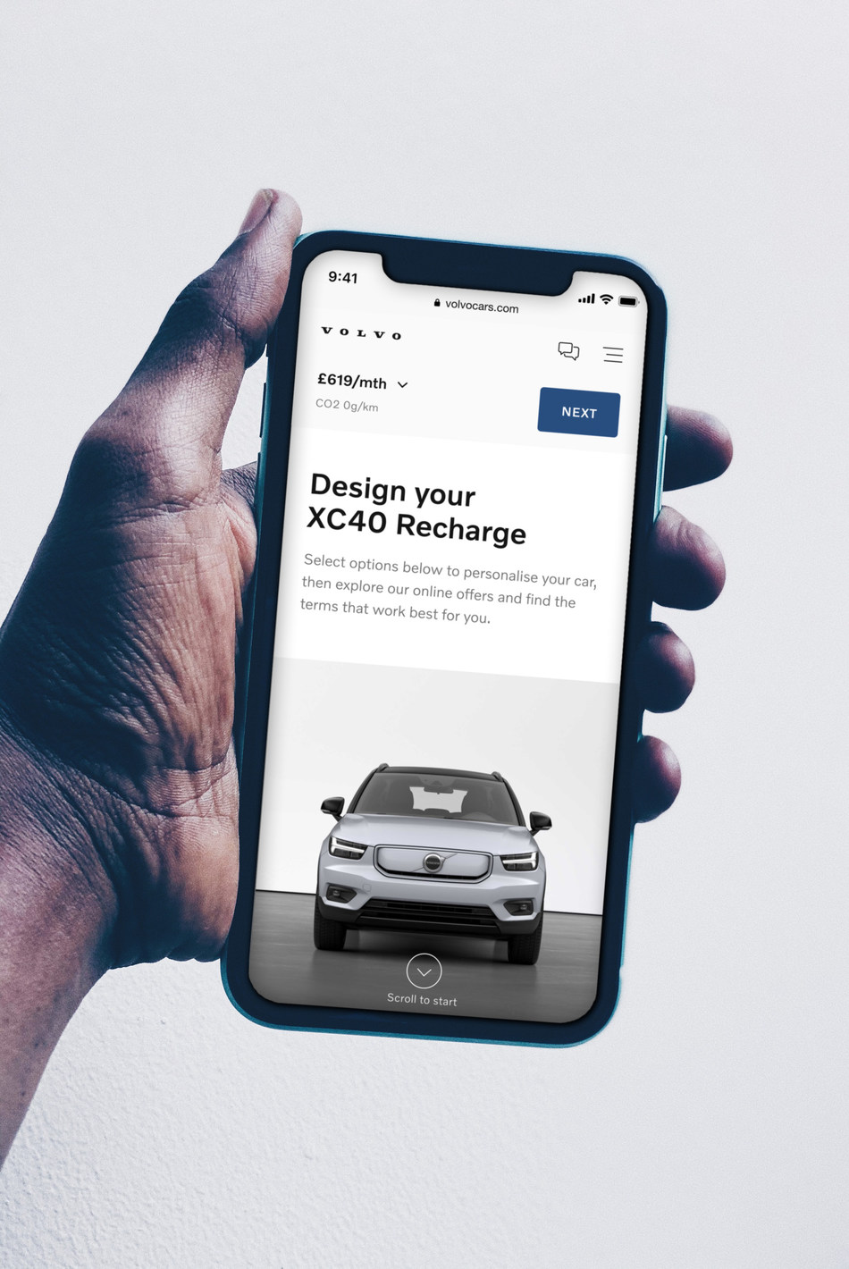 All pure electric Volvo models to be available online only