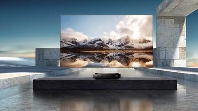 El primer televisor láser TriChroma del mundo: el Hisense 100L9.