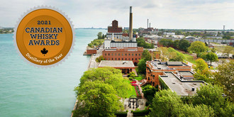 Hiram Walker & Sons Wins Fourth Straight Canadian Distillery of