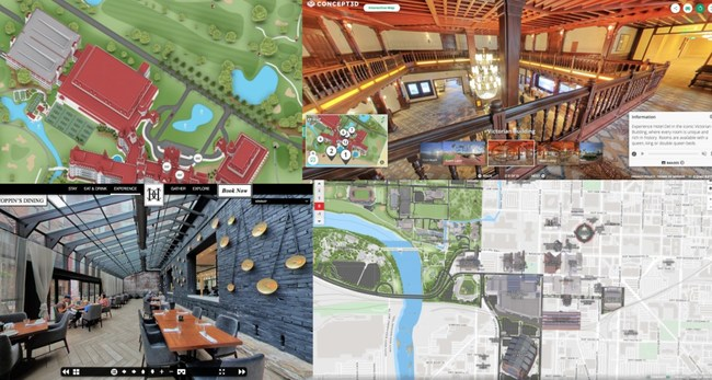 Concept3D Offers Virtual Tour and Mapping Software to Hospitality and Tourism Industry at No Cost