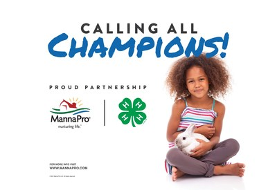 Manna Pro is extending its 4-H partnership to create opportunities for more young people across America with
