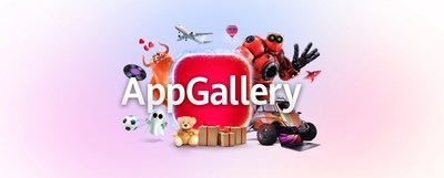 Huawei's AppGallery (CNW Group/Huawei Consumer Business Group)