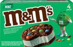 M&M'S® Introduces New Mint Ice Cream Cookie Sandwich to Bring ...