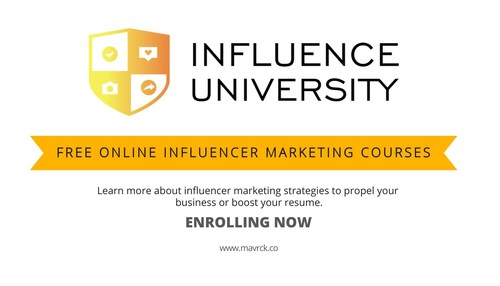 Influence University is an influencer marketing curriculum and certification program for aspiring influencer marketing experts and practitioners.