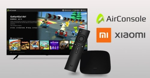 Xiaomi includes AirConsole gaming on every Android™ TV device
