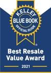 Kelley Blue Book Names 2021 Best Resale Value Award Winners