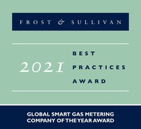Pietro Fiorentini Acclaimed by Frost & Sullivan for Its Unrivalled Smart Gas Metering Solutions