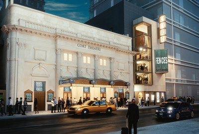 Cort Theatre with Expansion. Rendering by Kostow Greenwood Architects