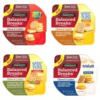 Sargento Foods, in Partnership with RITZ®, TRISCUIT® and WHEAT THINS®, Introduces Balanced Breaks® Cheese & Crackers Snacks