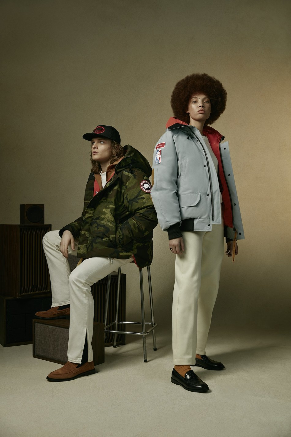 Canada Goose & NBA Collection with RHUDE Macmillan Parka and Chilliwack Bomber