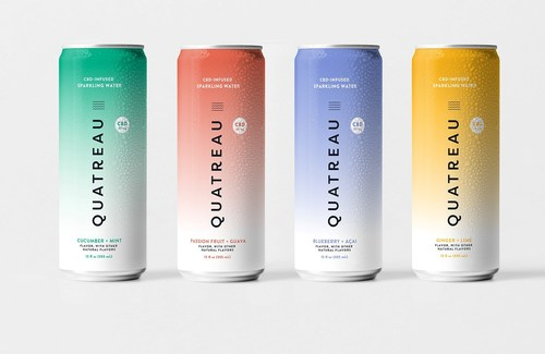 Canopy Growth Launches Quatreau CBD-Infused Sparkling Waters (CNW Group/Canopy Growth Corporation)