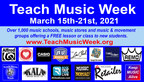 FREE Music Lessons to Celebrate 7th Annual Teach Music Week - 1000+ Locations