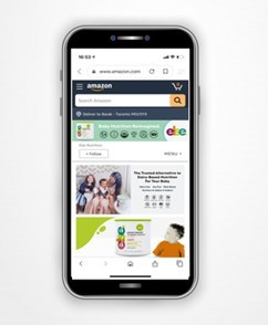 Amazon Branded Store (CNW Group/Else Nutrition Holdings Inc.)