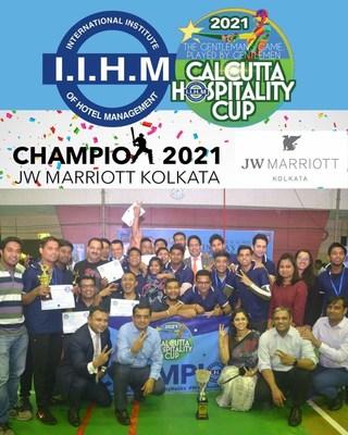 JW Marriott Wins the Kolkata Hospitality Cup