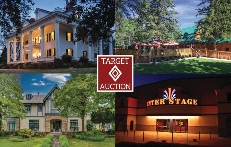 """""""Sometimes it takes more than just saying 'It's for sale!' to attract a buyer for a property,"""" said Target Auction Company President & CEO Dewey Jacobs. """"Unique properties are often difficult to sell, especially with a price tag of over $2 million."""""""