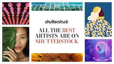 """Exceptional, engaging content is synonymous with Shutterstock, and we are inspired everyday by our diverse community of artists who make it possible,"" said Kristen Sanger, Senior Director of Contributor Marketing at Shutterstock"