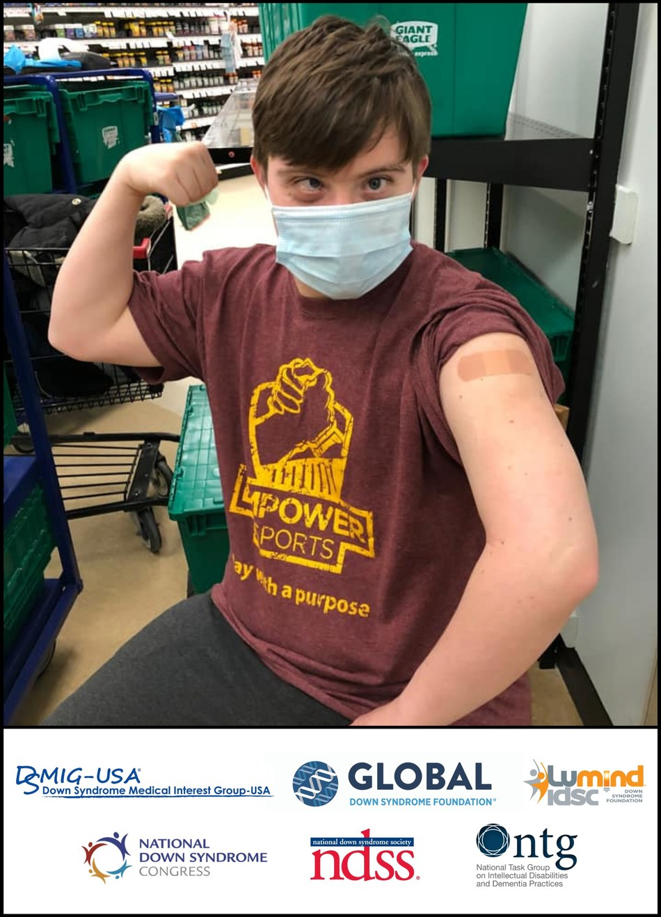 Courtesy of Global Down Syndrome Foundation