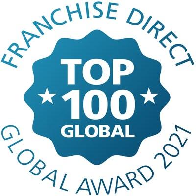 Franchise Direct Top 100 Global Award 2021