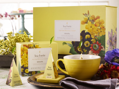 Introducing Soleil, the Latest Limited-Edition Collection from Tea Forté Curated with The New York Botanical Garden WeeklyReviewer