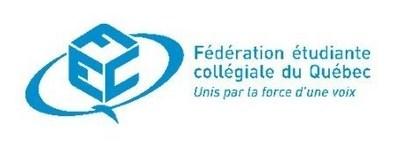 Logo FECQ (Groupe CNW/Fédération étudiante collégiale du Québec (FECQ))
