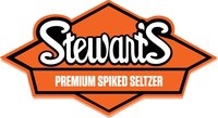 The Stewart's Spiked Seltzer logo is inspired by the original Stewart's logo and typeface designed almost a century ago.