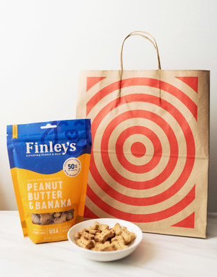 Finley's dog treats are now available in-store at select Target, Safeway/Albertsons and Tom Thumb/Randalls locations.