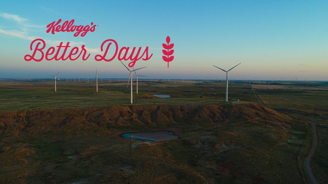 Kellogg Company to Achieve Over 50% Renewable Electricity Globally by the End of 2022