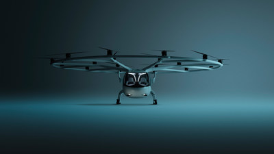 VoloCity electric air taxi by Volocopter