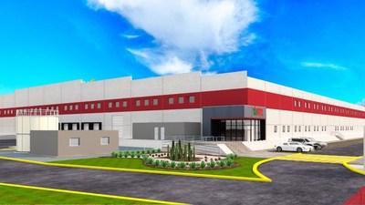 """""""El diseño de la nueva planta de fabricación WBTL 200.000 SQF en México, diseñado por Alianza"""""""