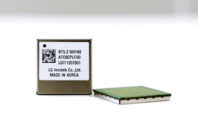 The automotive Wi-Fi 6E module developed by LG Innotek