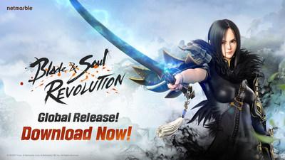 Netmarble's Open World RPG Blade & Soul Revolution Now Available Worldwide