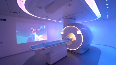 Philips Ambient Experience with specially designed Disney animation (PRNewsfoto/Disney,Philips)