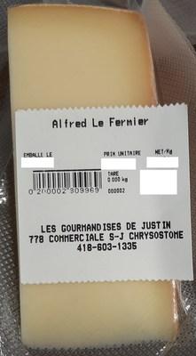 Alfred le Fermier (Groupe CNW/Ministère de l'Agriculture, des Pêcheries et de l'Alimentation)