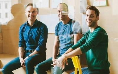 Staffbase Co-Founders Frank Wolf, Lutz Gerlach and Martin Böhringer