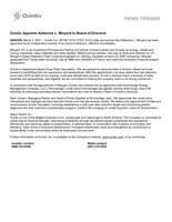 Ovintiv Appoints Katherine L. Minyard to Board of Directors (CNW Group/Ovintiv Inc.)