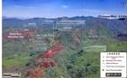 GR银矿挖掘在Plomosas的San Juan地区的高档近距离近距离表面矿化: