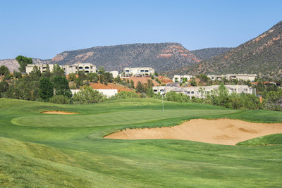 The limited-time Golf Getaway package is available at Diamond-managed properties in Sedona, including The Ridge on Sedona Golf Resort, Sedona Summit, Bell Rock Inn and Los Abrigados Resort & Spa and Mystic Dunes Resort & Golf Club in Orlando.