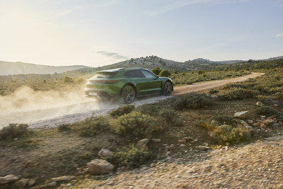 The optional Off-Road design package increases ground clearance