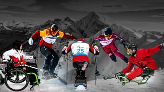 加拿大的顶级巴拉运动员在残奥会冬季比赛中竞争