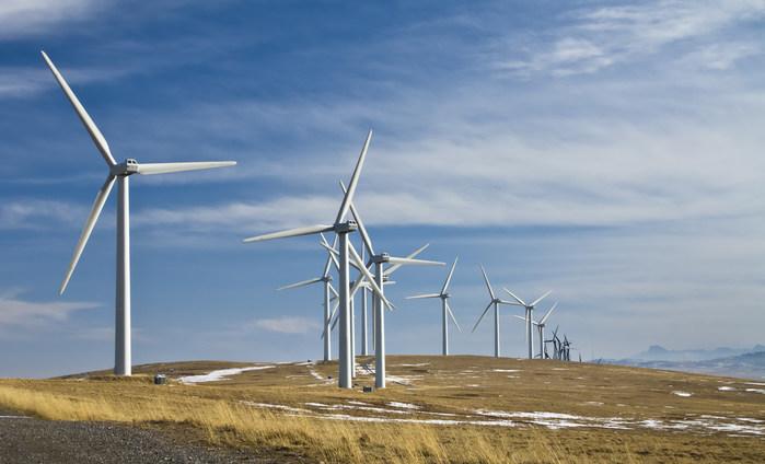 风车在领域(CNW集团/环境和气候变化加拿大)