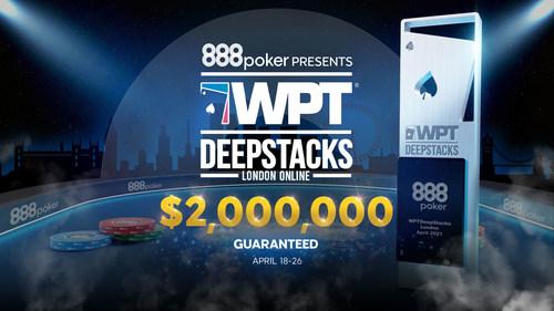 888poker hosts WPTDeepStacks™ events (PRNewsfoto/888 Holdings Plc)