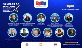 "10th anniversary of ""Civil Society Dialogue between EU and Turkey"