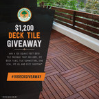 AdvantageLumber.com Offers Ipe Wood Deck Tile Giveaway Worth...