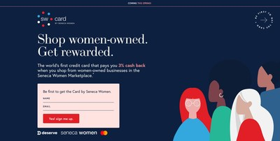 Visit card.senecawomen.com to join the waitlist today.