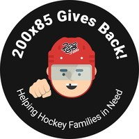 """200x85, the worldwide leader in elite youth hockey tournaments and training experiences, launches the """"Give Back"""" campaign for disadvantaged youth. Beginning March 4th and running through March 21st, the """"200x85 Gives Back"""" campaign will connect with families from all across the country to provide hockey equipment to players in need, ensuring they get to keep playing hockey. 200x85 will select five families from across the nation and provide head-to- ankle equipment."""