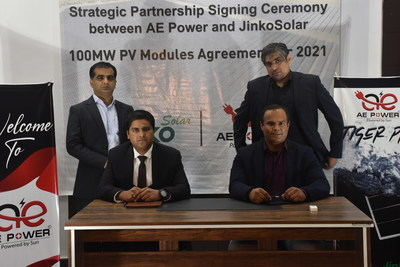 100MW Module Signing Ceremony