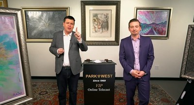 Park West Principal Auctioneers Jordan Sitter and Cole Waters introduce Park West's February 25-28 online auction weekend.