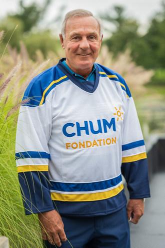 Guy Lafleur (CNW Group/ foundation du CHUM)