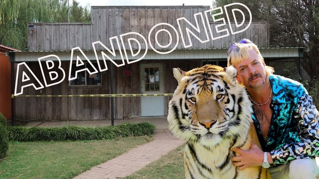 Joe Exotic's former Greater Wynnewood Exotic Animal Park in Oklahoma is now closed and many of the animals have found new lives of refuge at The Wild Animal Sanctuary in Colorado.