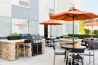 Outdoor Patio at TownePlace Suites